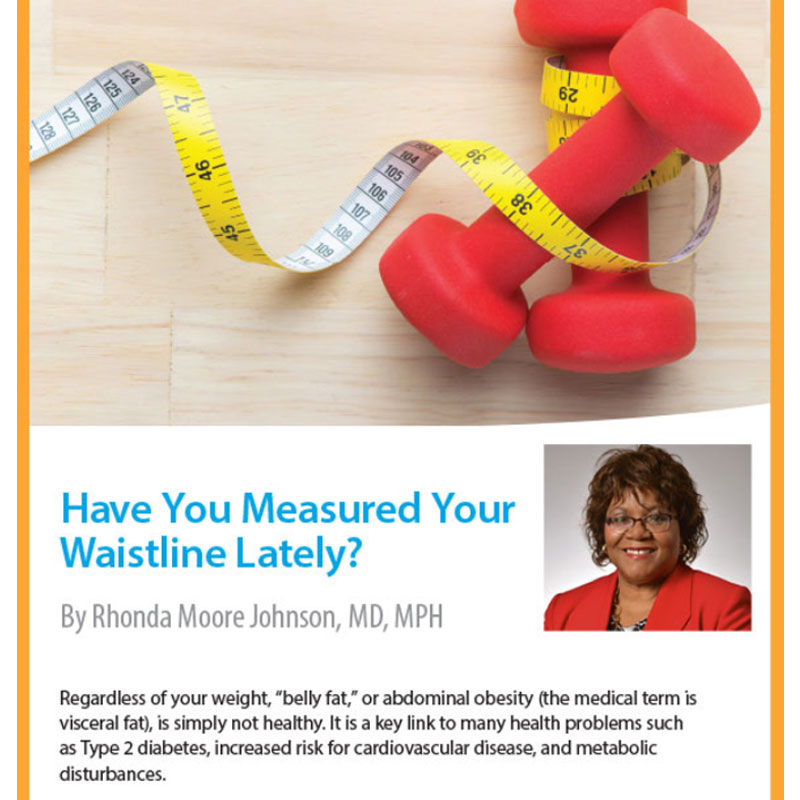 Have You Measured Your Waistline Lately? | Highmark