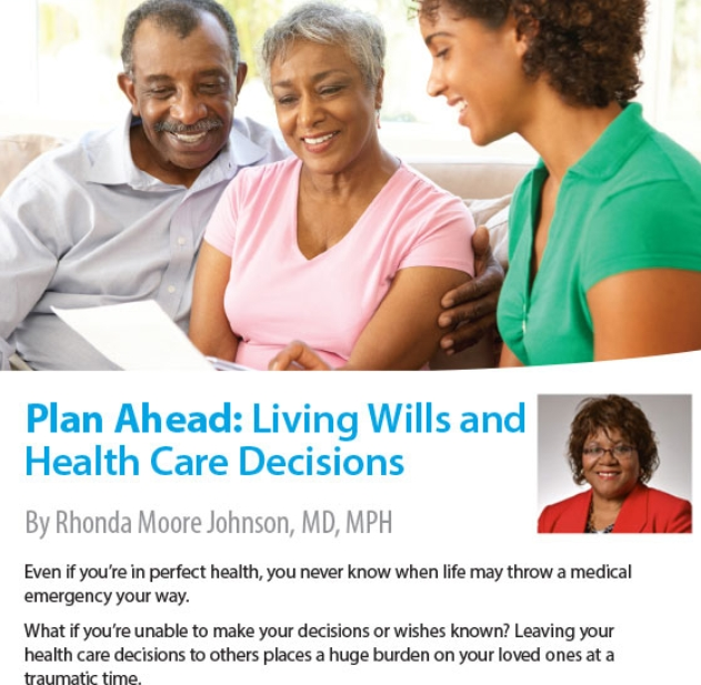 Plan Ahead: Living Wills and Health Care Decisions | Highmark