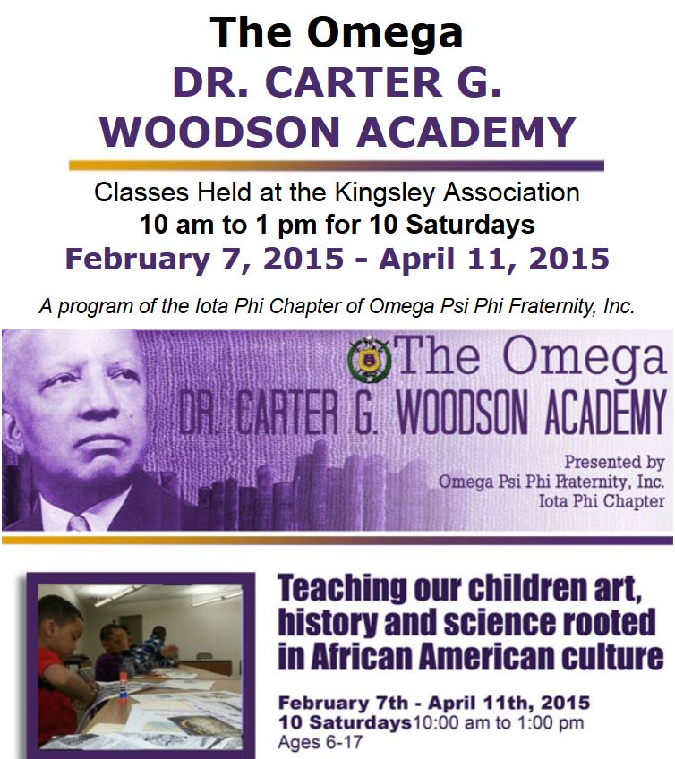 The Omega Dr. Carter G. Woodson Academy