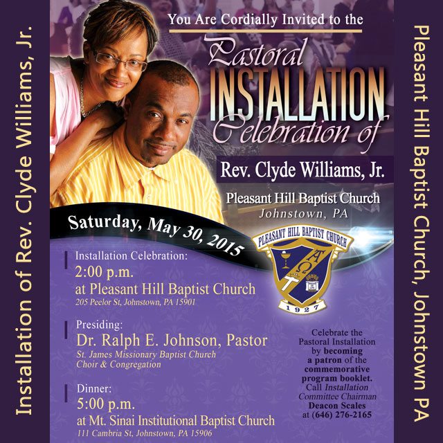 pastor installation service | just b.CAUSE