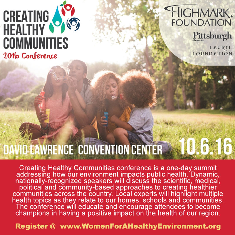 Creating Healthy Communities 2016 Conference | Oct 6 at DL Convention Center