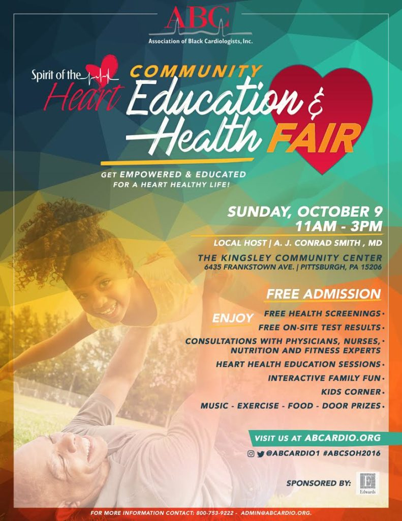 Spirit of the Heart Community Education & Health Fair | Free & Open to the Public on Oct 9th 11AM-3PM