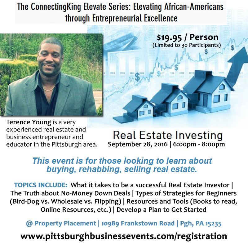 Real Estate Investing: Learn about buying, rehabbing and selling | Sept 28th at 6PM
