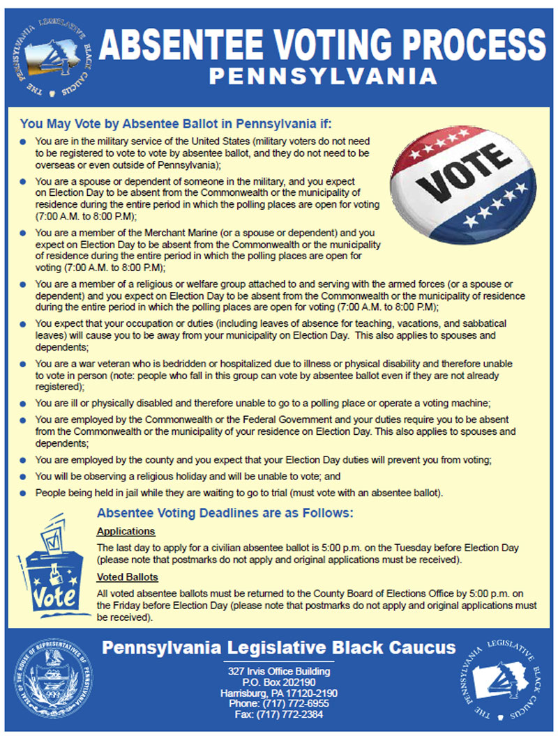 Soul Blast - PA Absentee Voting Process | Know Your rights