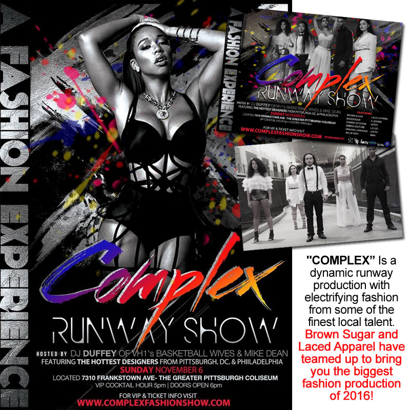 COMPLEX: A Fashion Experience | Nov 6th at The Greater Pittsburgh Coliseum