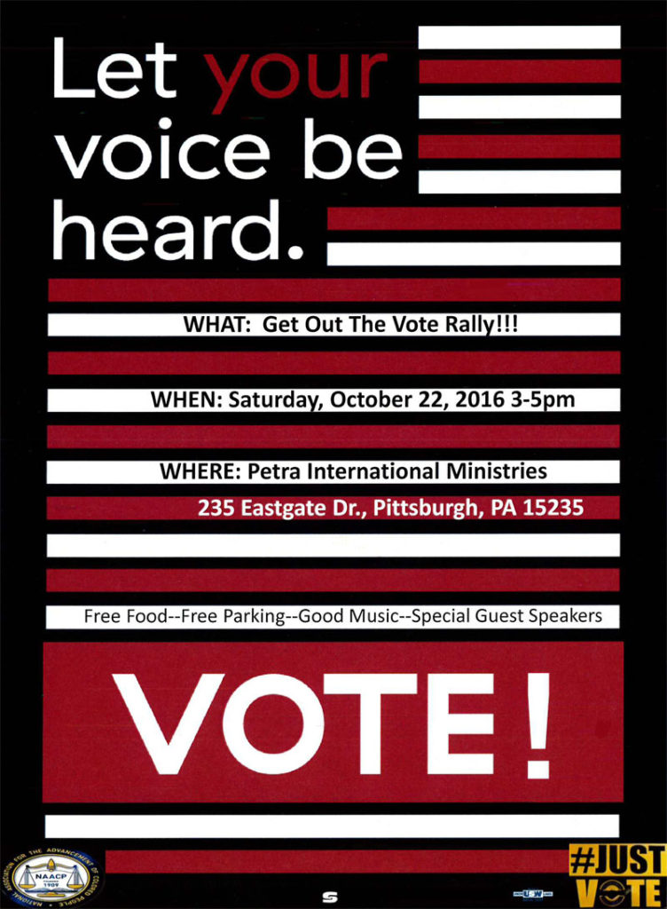 Let Your Voice be Heard NAACP