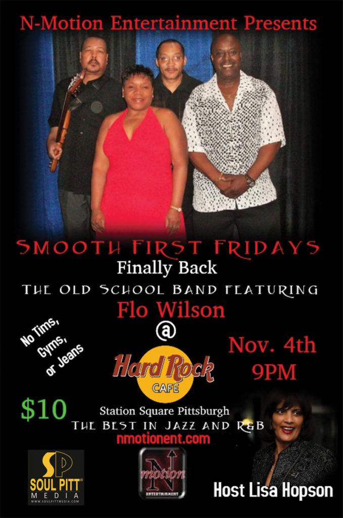 Smooth First Fridays @ Hard Rock | Nov 4 at 9PM