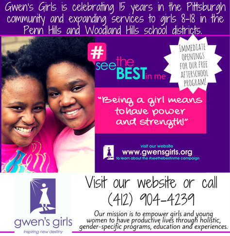 Gwen's Girls | Immediate Openings For our FREE Afterschool Program!