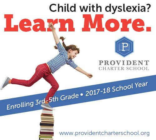 Child with dyslexia? Learn More. | Provident Charter School