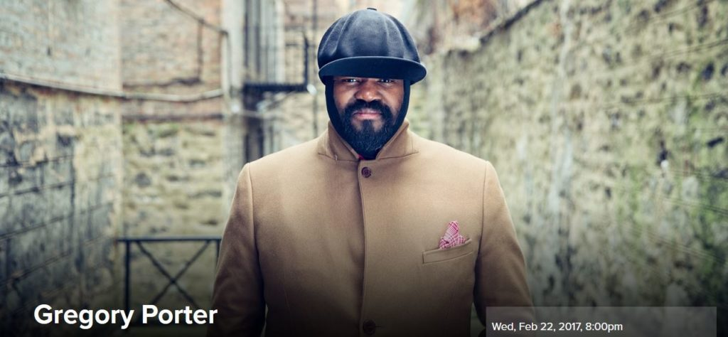 Gregory Porter LIVE at August Wilson Center on Wednesday, Feb 22nd at 8PM