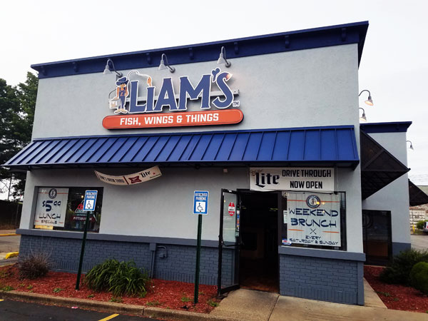 Grab a Bite to Eat at Liam's Fish, Wings & Things Located in Wilkinsburg