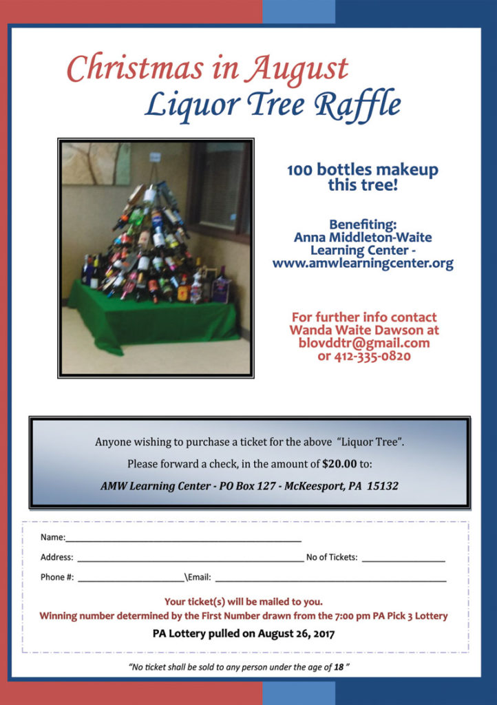 Christmas in August Liquor Tree Raffle