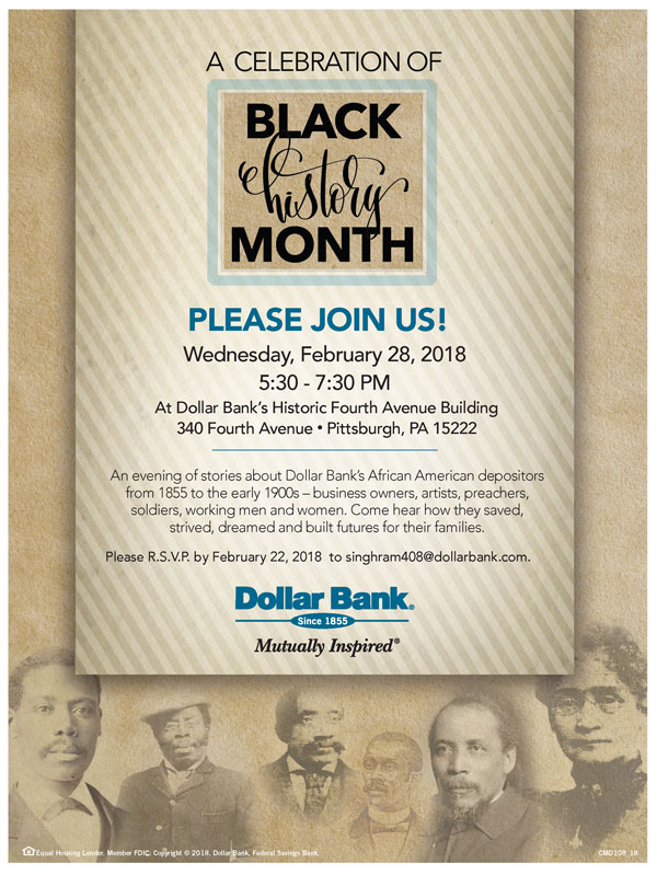 Celebrate Black History with Dollar Bank!
